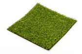 Grass mat isolated white background — Foto Stock