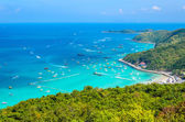 Koh larn island tropical beach in pattaya city Thailand — Foto de Stock