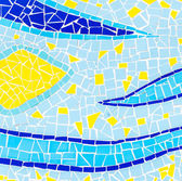 Color mosaic texture background — Stock Photo