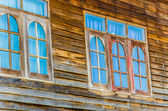 Old wood window — Stock Photo