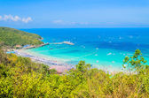 Isola di Koh larn in Thailandia pattaya — Foto Stock