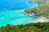Koh larn island tropical beach in pattaya city Thailand — Stock Photo