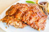 Bife de costela churrasco — Fotografia Stock
