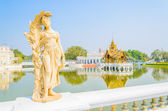 Architecture Bang pa in palace thailand — Foto de Stock