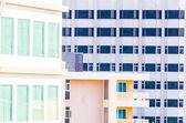 Windows office building background — ストック写真