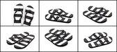 Flip flops isolated white background — Stock Photo