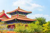 Tempio cinese in thailandia — Foto Stock