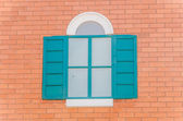 Vintage tuscany italian Window italian tuscany style — Stock Photo