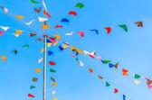 Kolor flagi strona — Zdjęcie stockowe