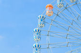 Amusement ferris wheel in the park — Photo
