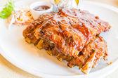 Bbq ribs steak — Stock Photo