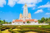 Thai temple chonburi — Stock Photo