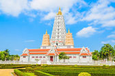 Thai temple chonburi — Stock Photo