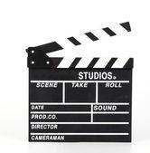 Clapper movie board — Stock Photo