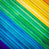 Colorful wood texture — Stock Photo