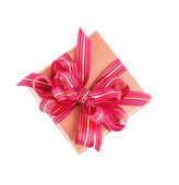 Scatola regalo isolato — Foto Stock