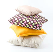 Pillow isolated white background — Stock Photo