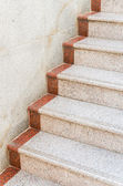 Staircase concrete — Stock Photo