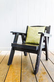Wood chair furniture — Foto de Stock