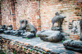 Old temple in ayutthaya Thailand — Stock Photo