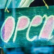 Open sign — Stock Photo #45329717