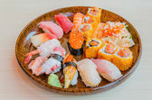 Sushi - Asian cuisine — Stock Photo