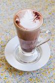 Hot chocolate drink — Stock Photo