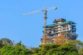 Crane construction — Stock Photo