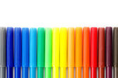 Color pen isolated on white background — Stock Photo