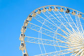 Ferris wheel in the park — Stok fotoğraf