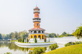 Tower in bang pa-in palace — Foto Stock