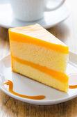 Orange cake — Zdjęcie stockowe