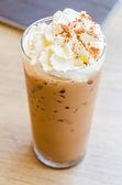 Iced coffee mocha — Stock Photo