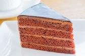Chocoladecake — Stockfoto