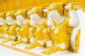 Tapınak maymun heykeli — Stok fotoğraf