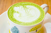 Green tea latte — Foto Stock