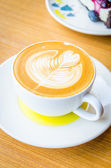 Latte coffee — Stock Photo