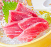 Tuna sashimi — Stock Photo