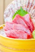 Tuňákové sushimi — Stock fotografie