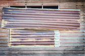 Eski ahşap pencere — Stok fotoğraf