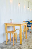 Coffee-shop-interieur — Stockfoto