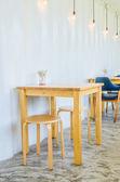 Kafé interiör — Stockfoto