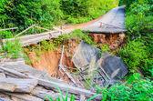 Earthquake road — Stock Photo