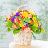 Flower basket — Stockfoto