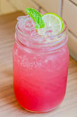 Lemonade juice cocktail — Stock Photo