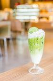 Iced green tea — Stock Photo