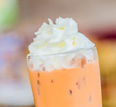 Ice thai tea — Stock Photo