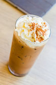 Iced coffee mocha — Stock Photo