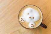Niedźwiedź kawa — Zdjęcie stockowe