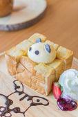 Honey toast — Stock Photo